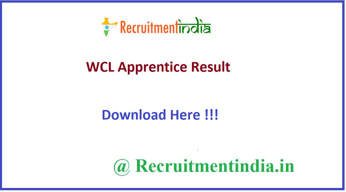 WCL Apprentice Result