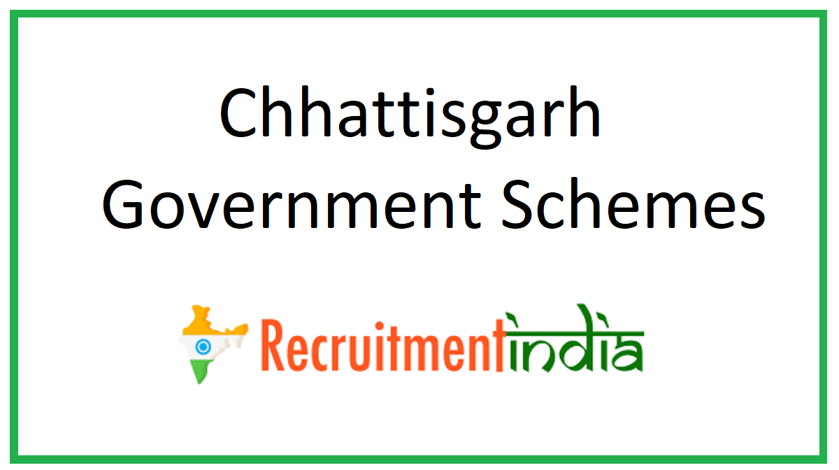 Chhattisgarh Government Schemes