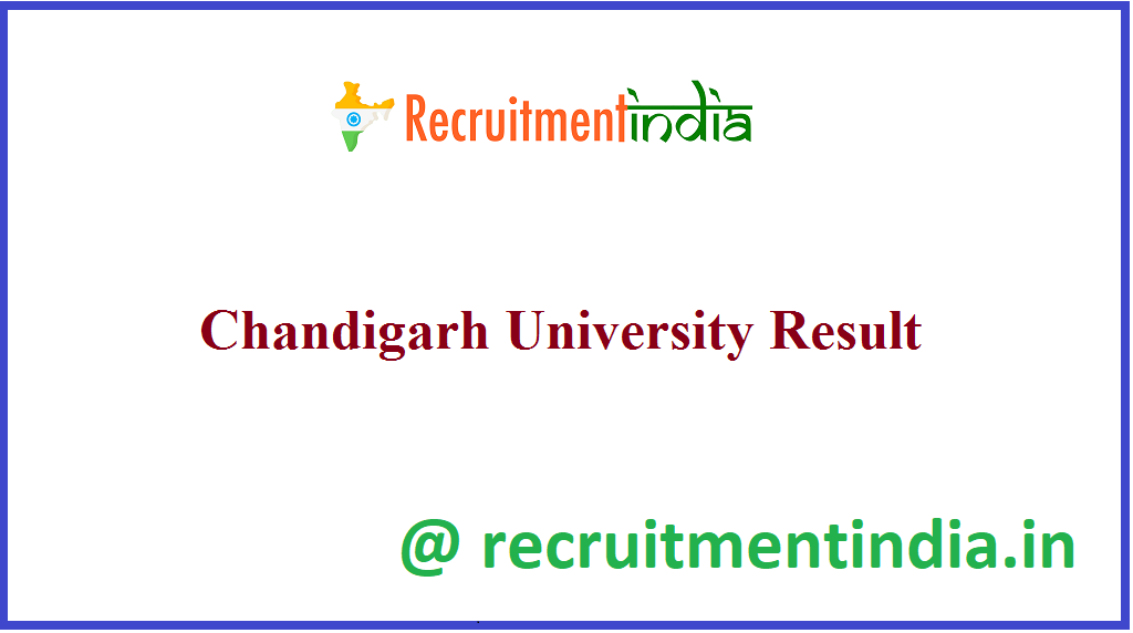 Chandigarh University Result