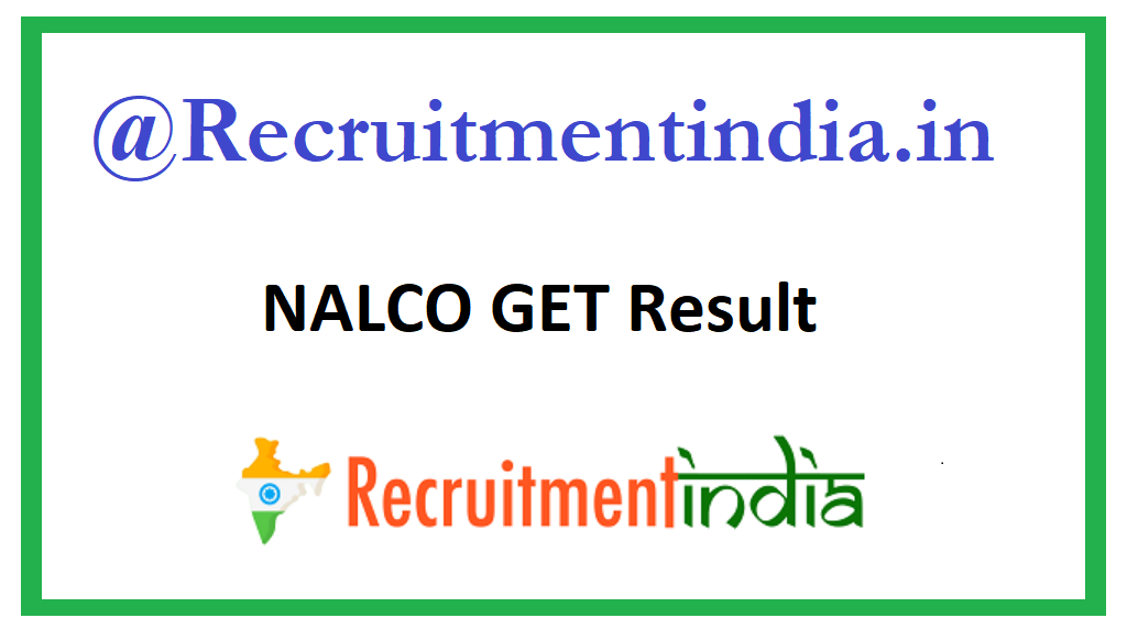NALCO GET Result