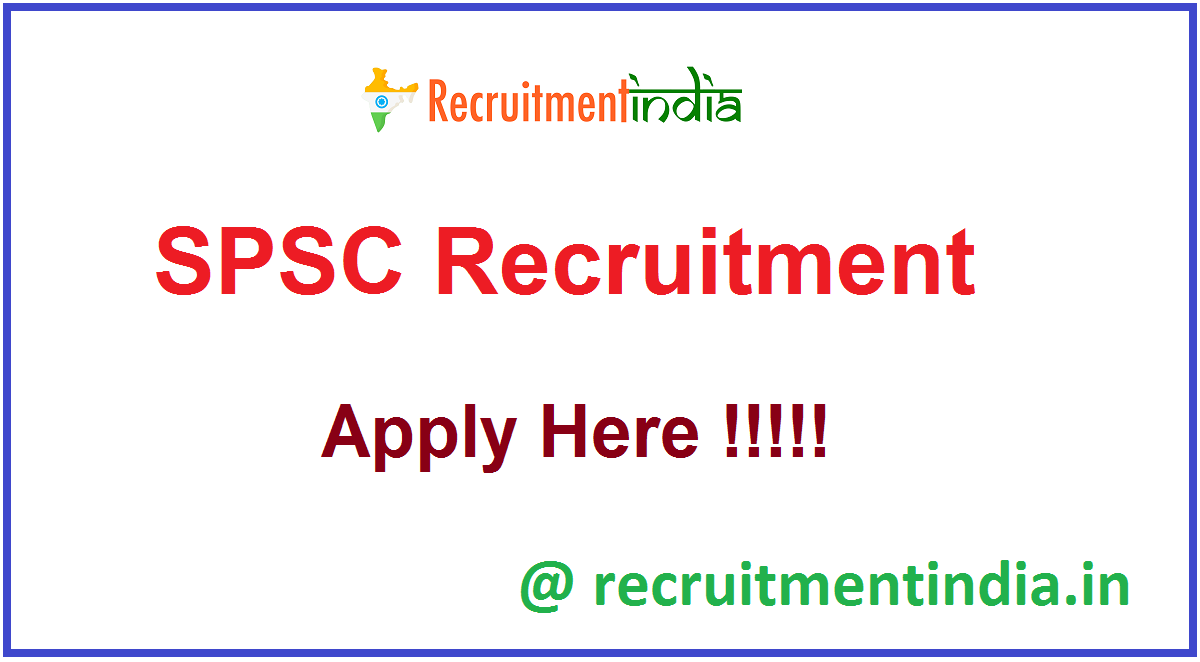 SPSC Recruitment