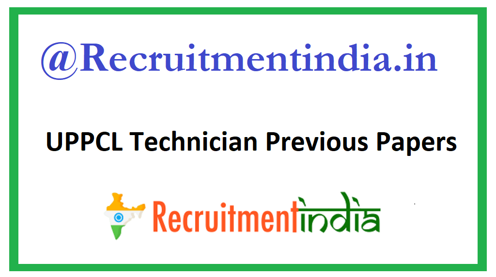 UPPCL Technician Previous Jobs