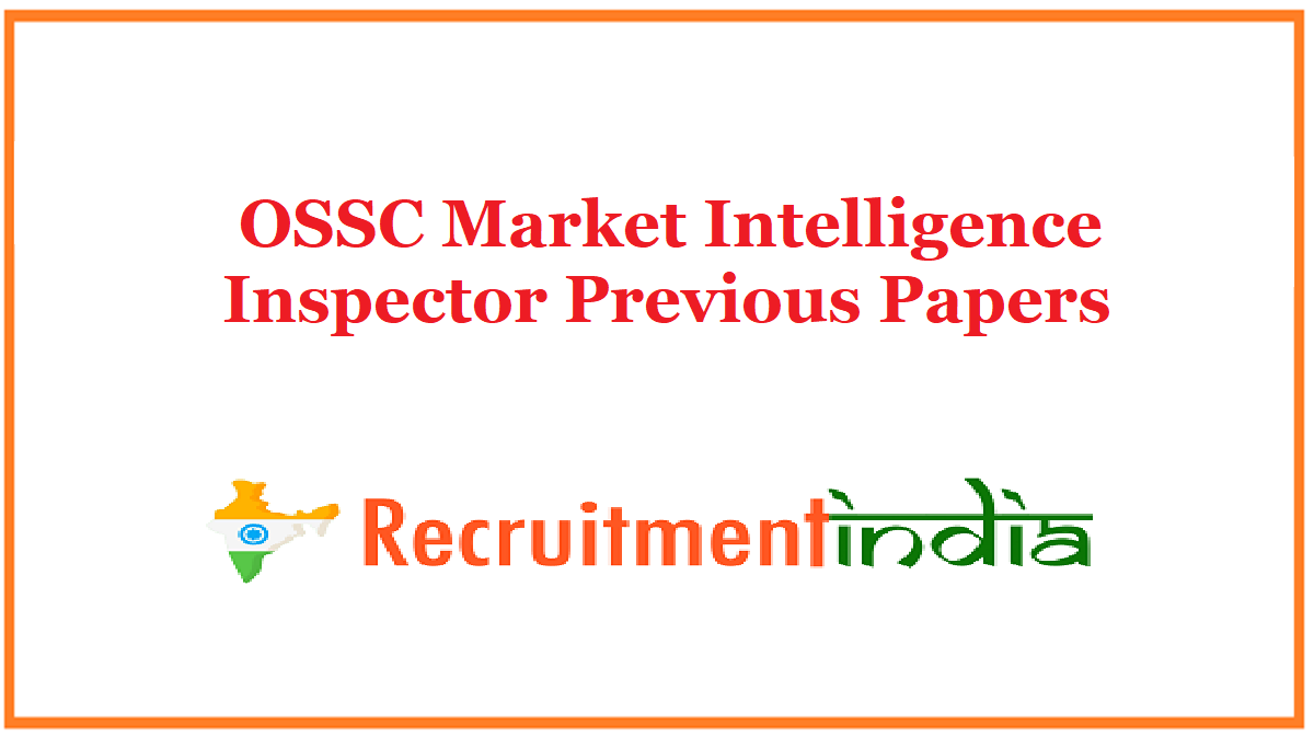 OSSC Market Intelligence Inspector Previous Papers