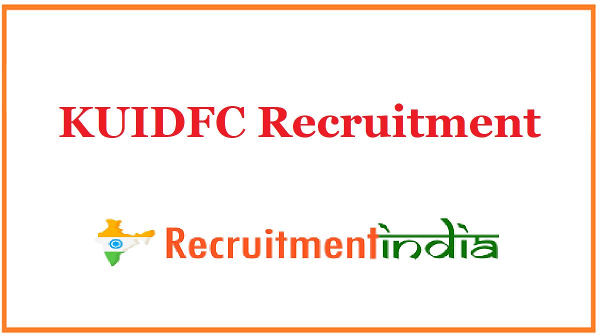 KUIDFC Recruitment