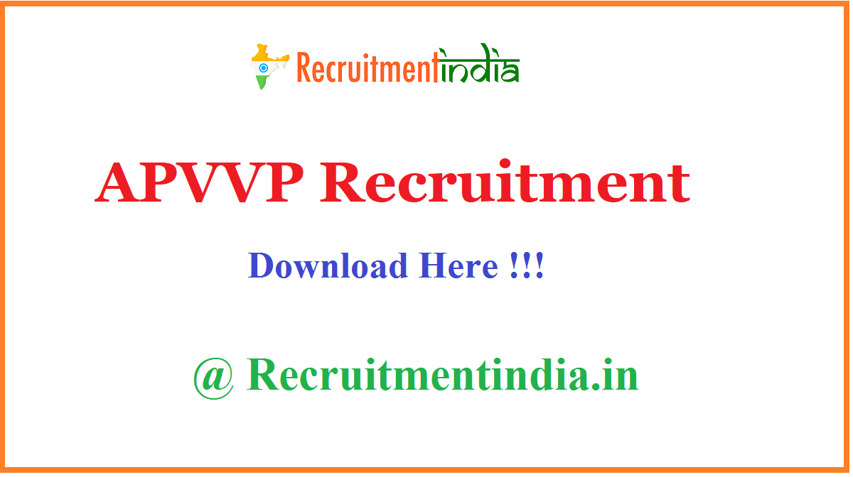APVVP Recruitment