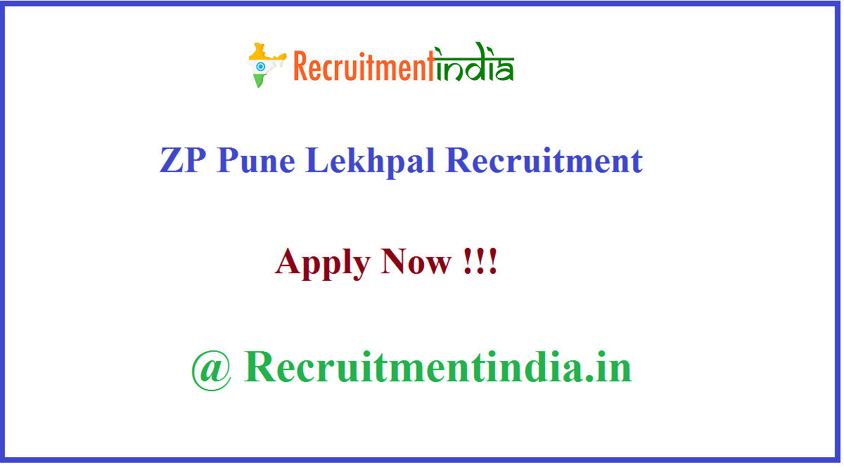 ZP Pune Lekhpal Recruitment