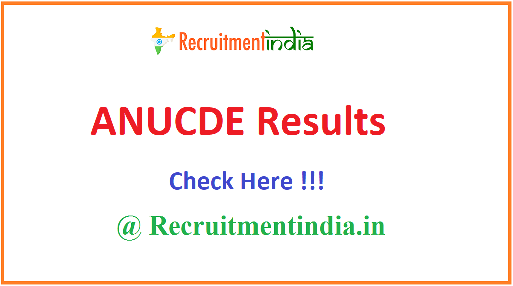 ANUCDE Results