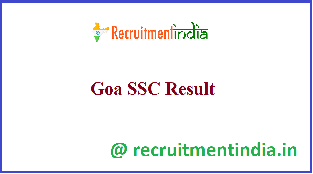 Goa SSC Result