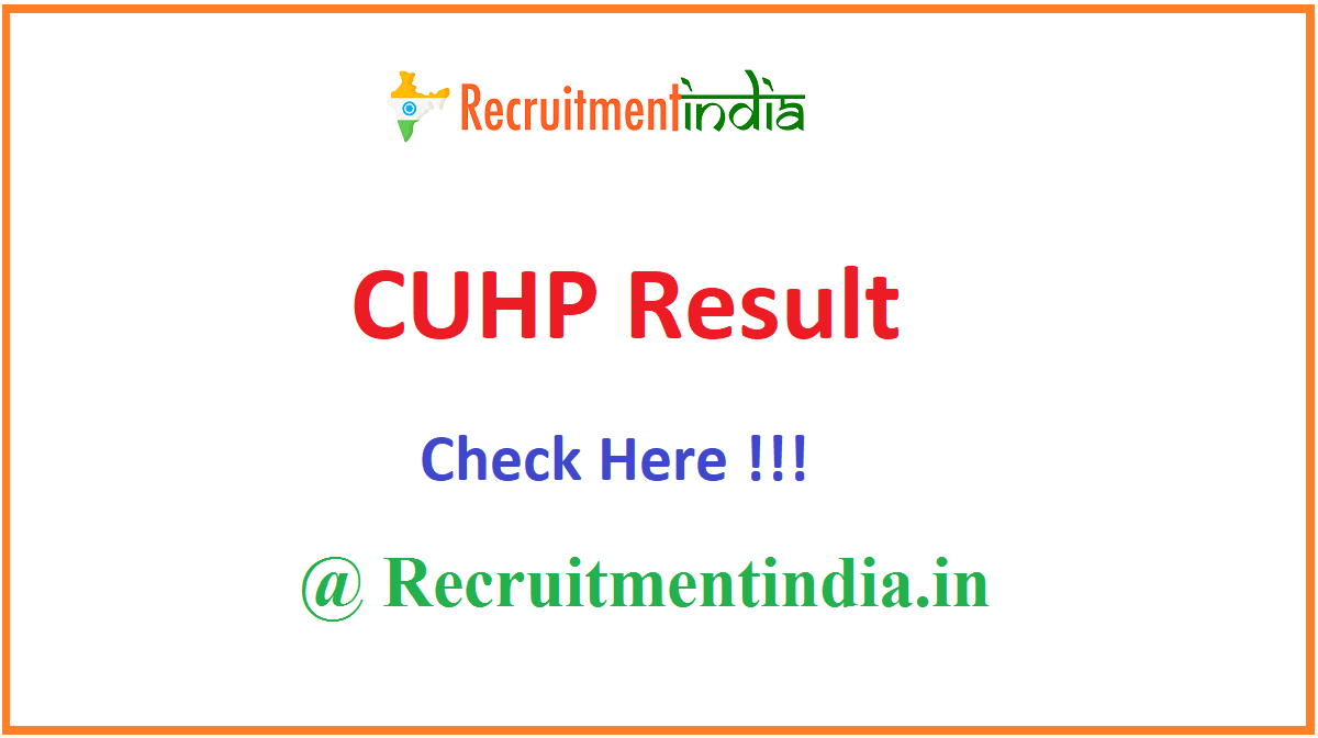 CUHP Result