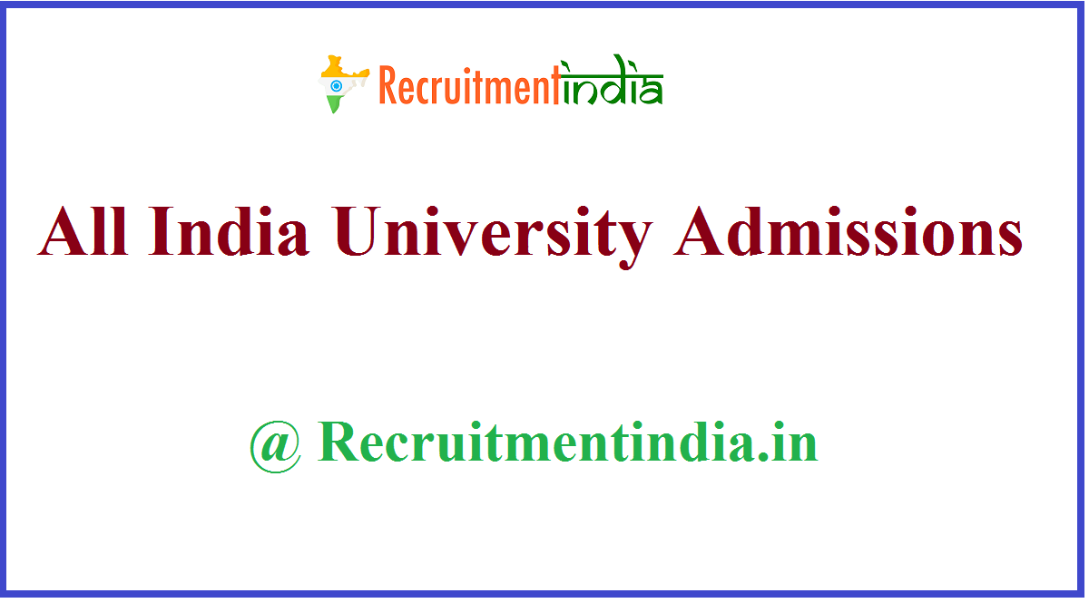 All India University Admissions