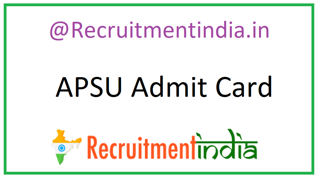APSU Admit Card