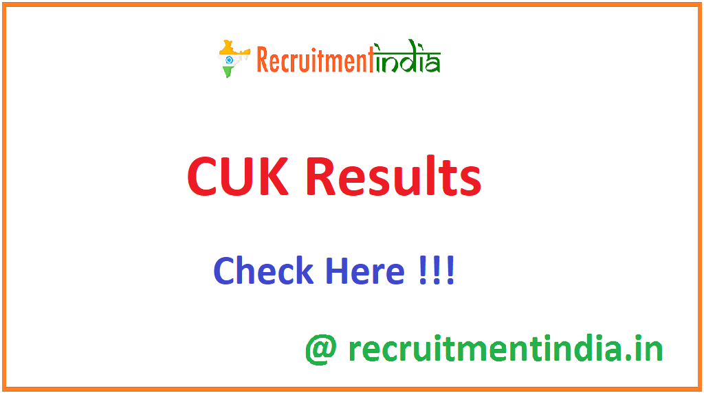 CUK Results