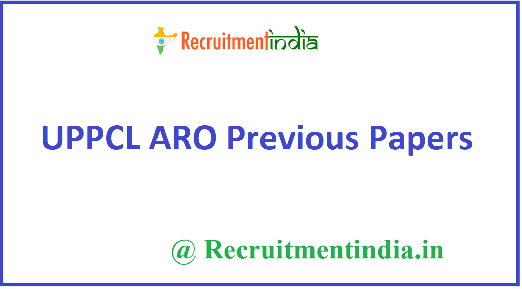 UPPCL ARO Previous Papers