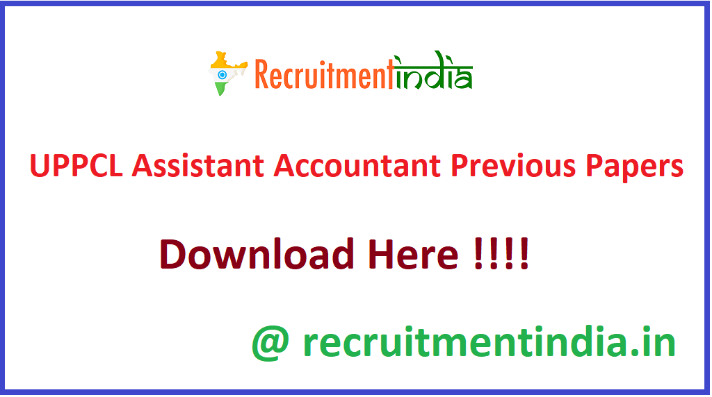 UPPCL Assistant Accountant Previous Papers