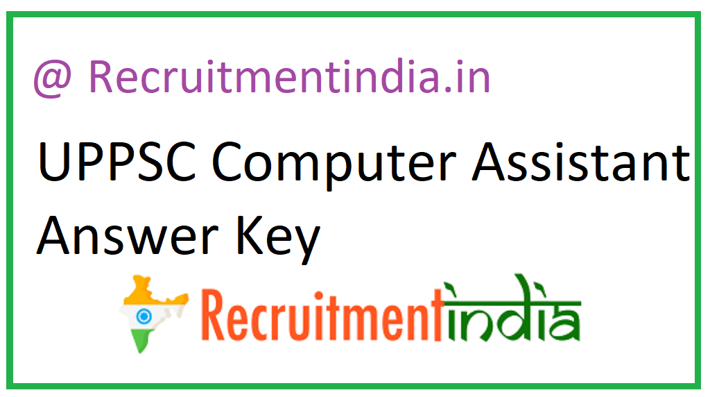 UPPSC Computer Assistant Answer Key