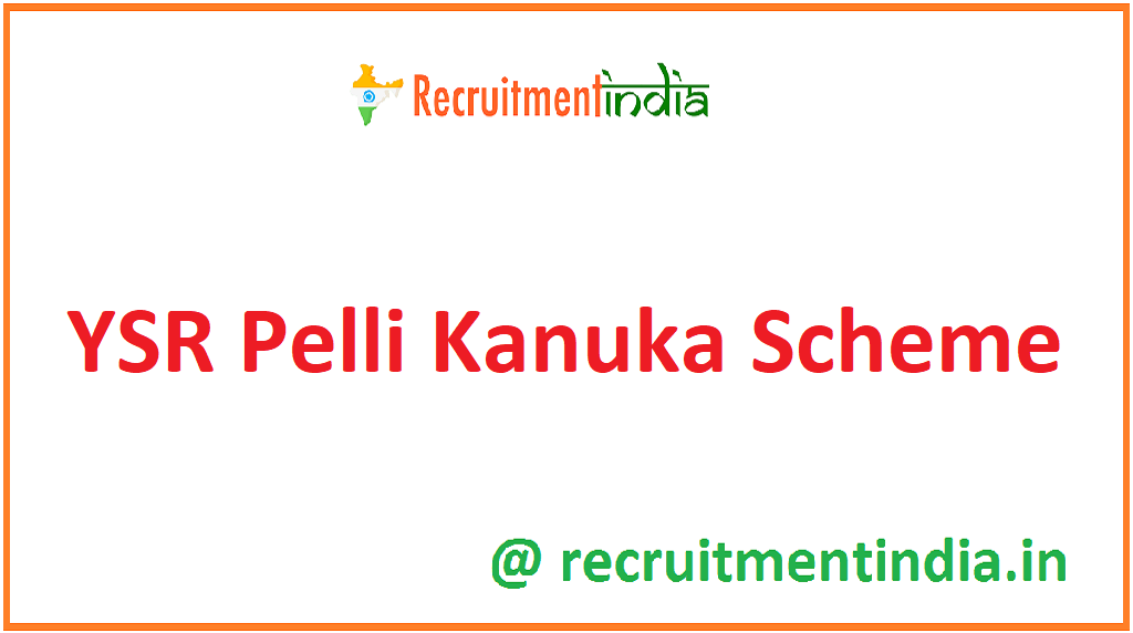 YSR Pelli Kanuka Scheme