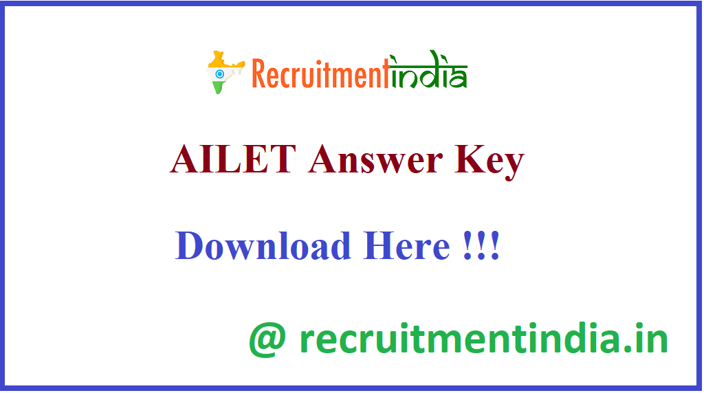 AILET Answer Key