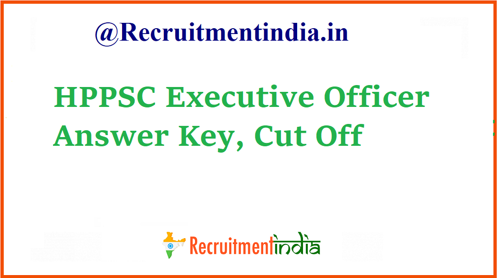 HPPSC Executive Officer Answer Key