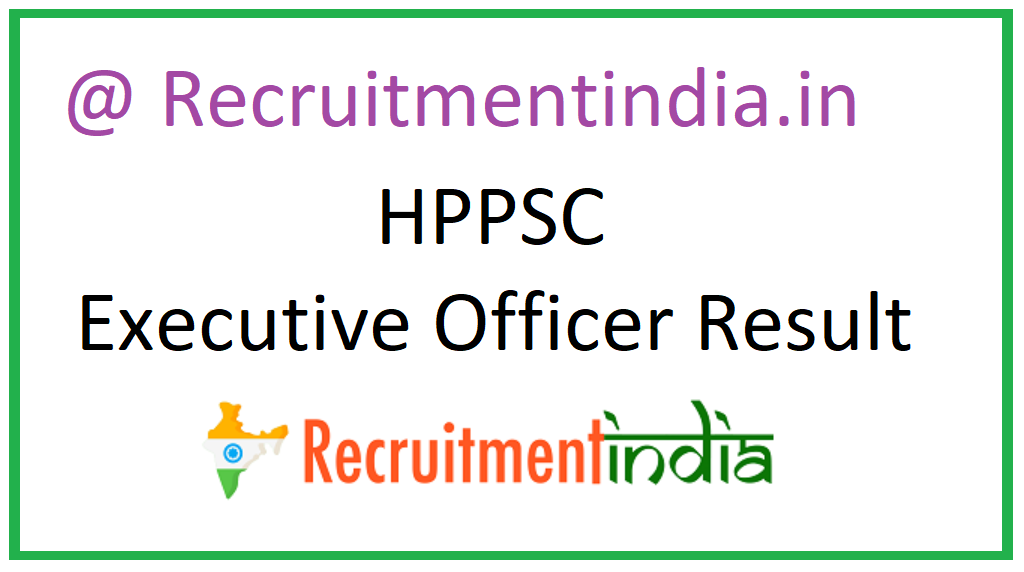 HPPSC Executive Officer Result