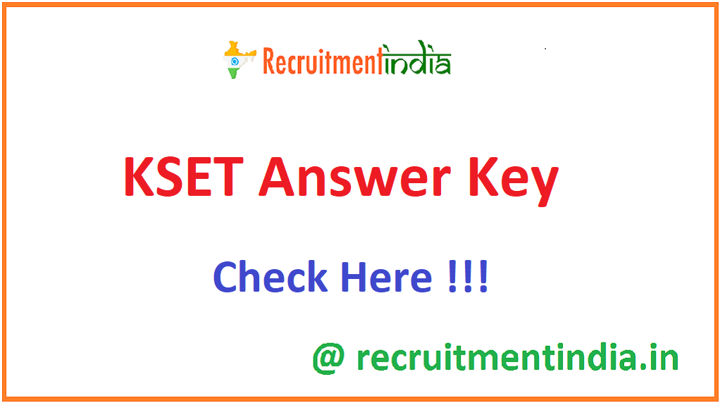 KSET Answer Key