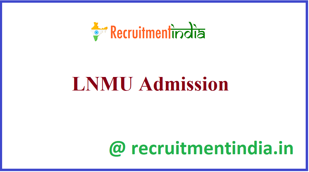 LNMU Admission