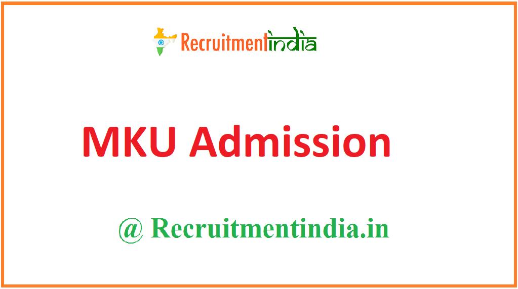 MKU Admission