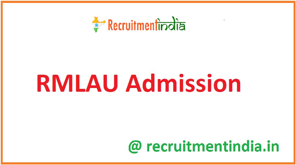 RMLAU Admission