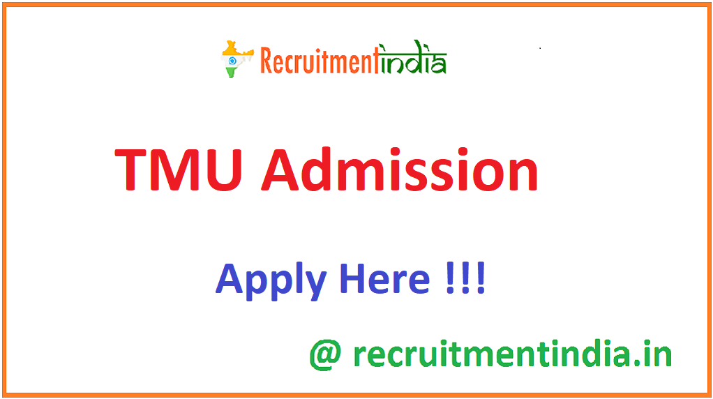 TMU Admission