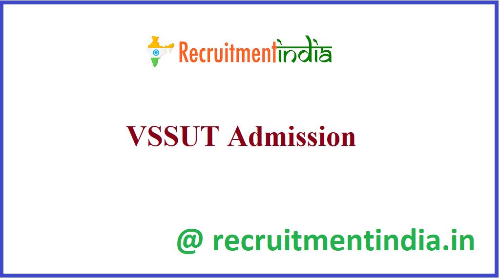 VSSUT Admission