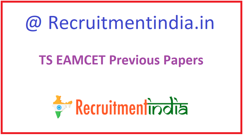 TS EAMCET Previous Question Papers