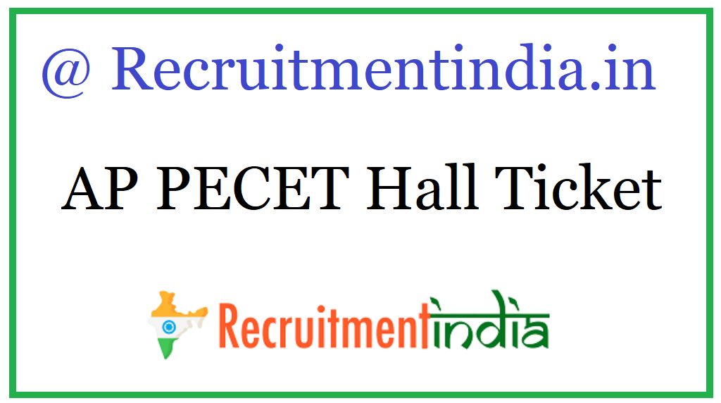 AP PECET Hall Ticket