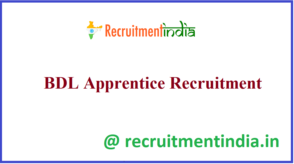 BDL Apprentice Recruitment
