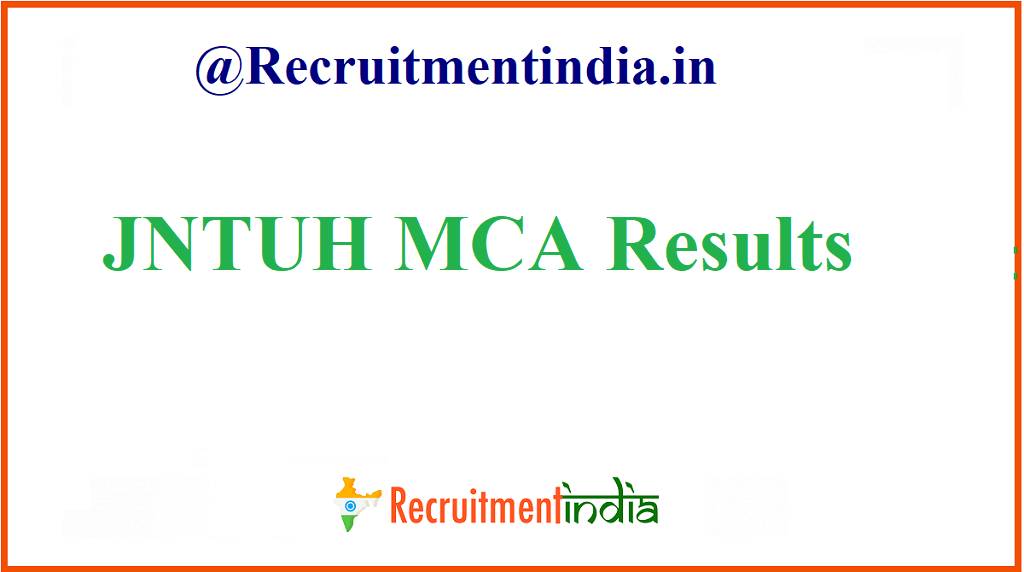 JNTUH MCA Results
