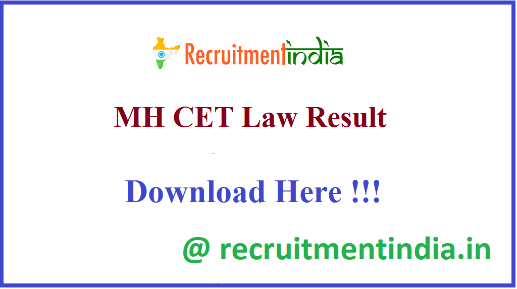 MH CET Law Result