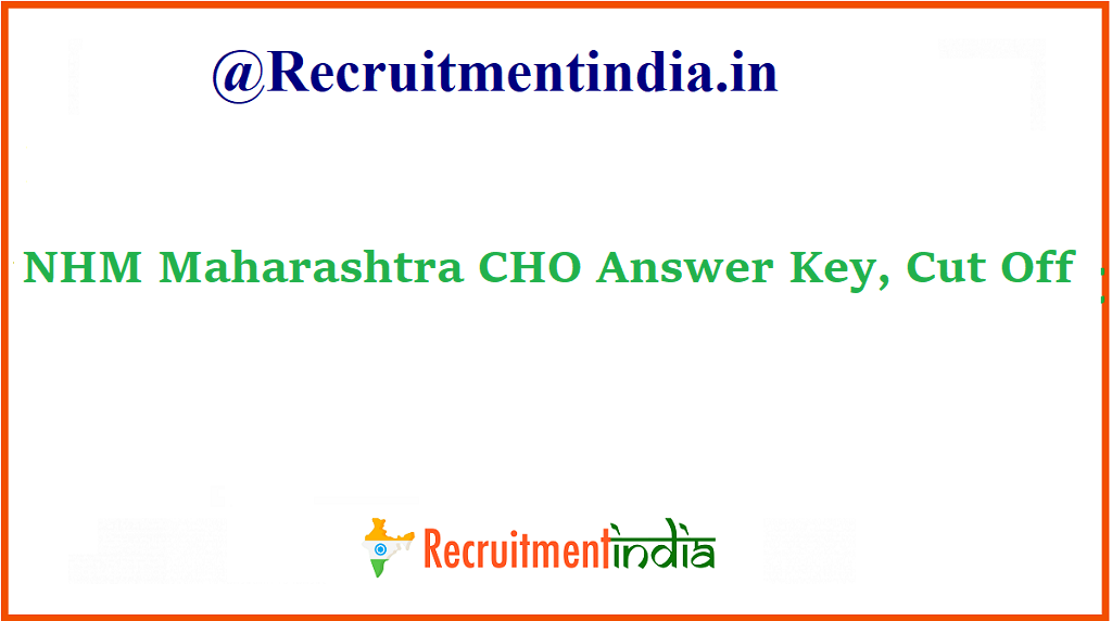 NHM Maharashtra CHO Answer Key