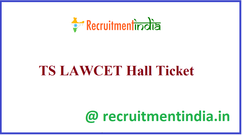 TS LAWCET Hall Ticket