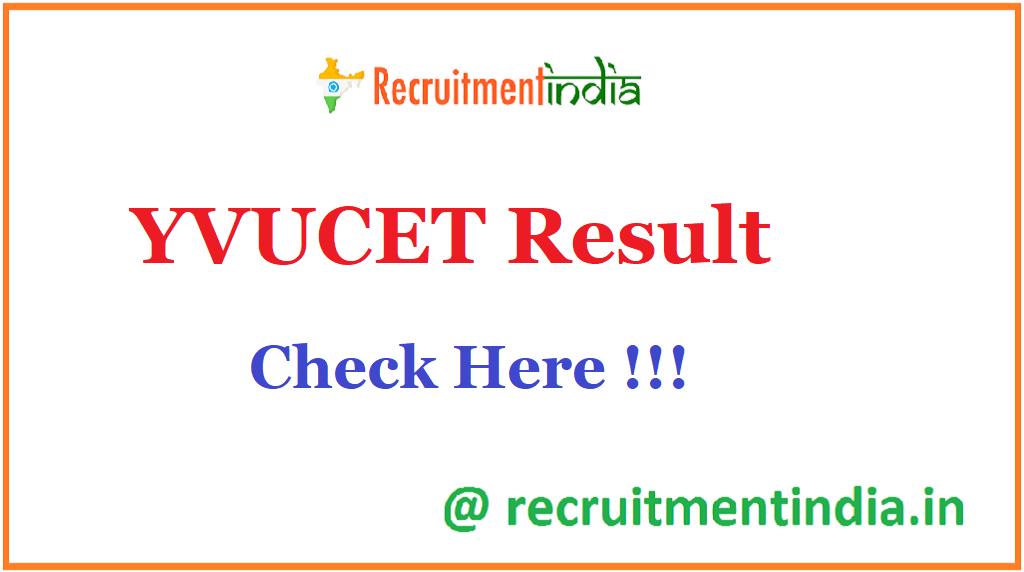 YVUCET Result