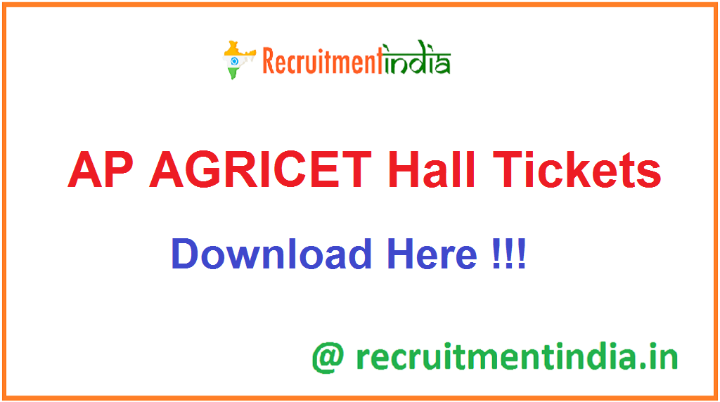 AP AGRICET Hall Tickets