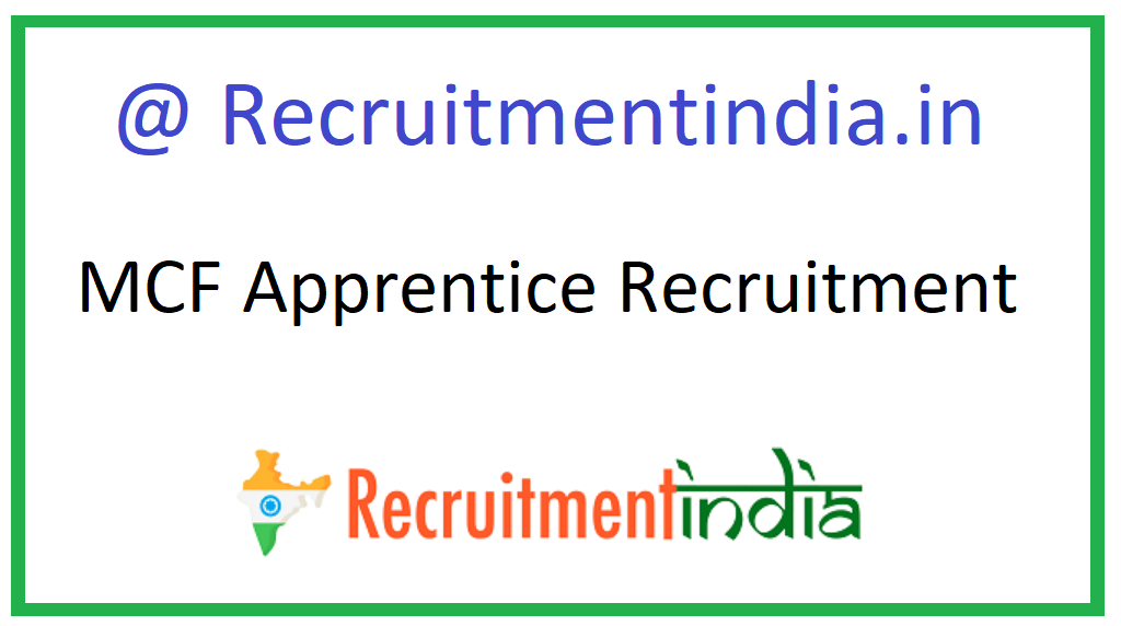 MCF Apprentice Recruitment