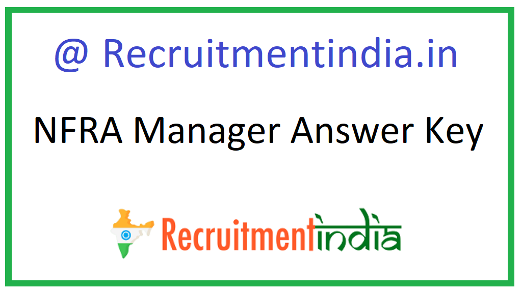 NFRA Manager Answer Key