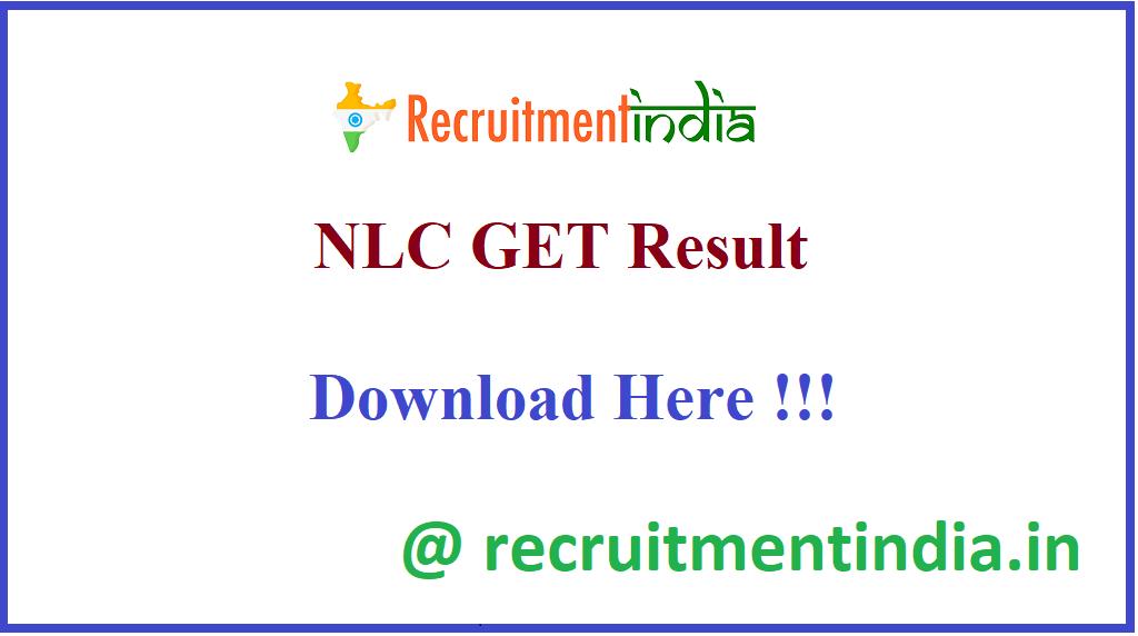 NLC GET Result