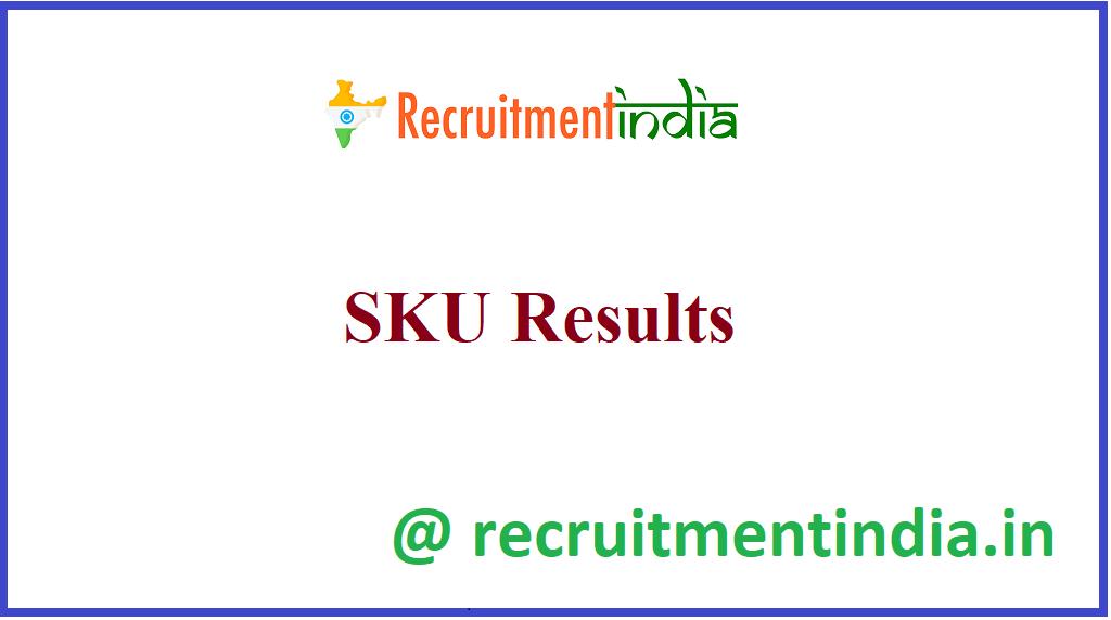 SKU Results