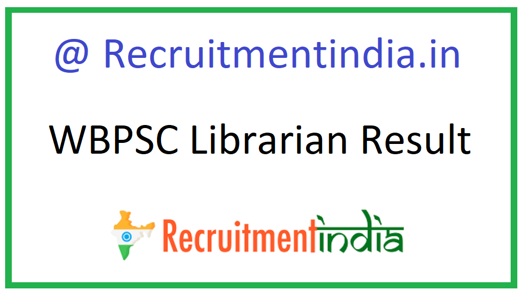 WBPSC Librarian Result