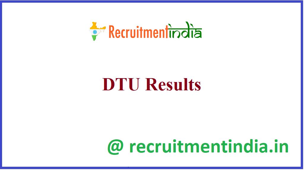 DTU Results