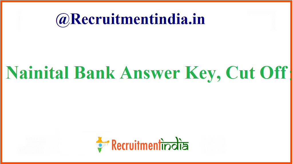 Nainital Bank Answer Key