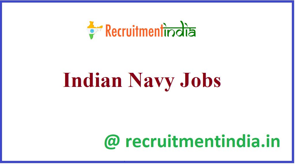 Indian Navy Jobs