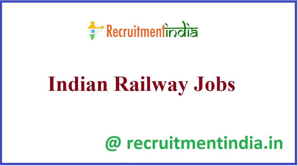 Indian Railway Jobs