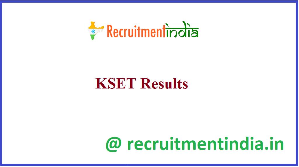 KSET Results