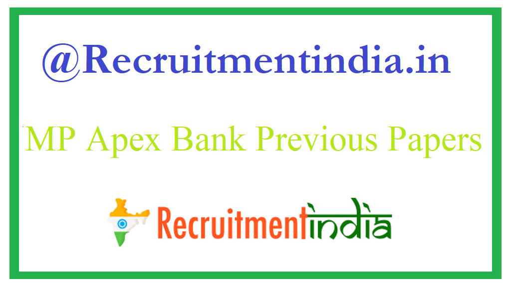 MP Apex Bank Previous Papers