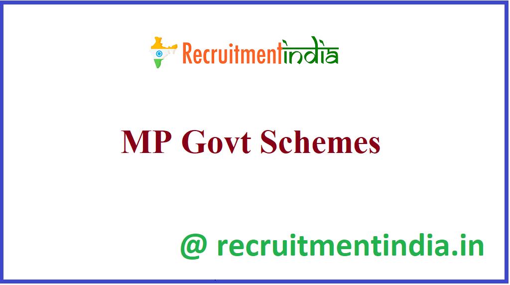 MP Govt Schemes